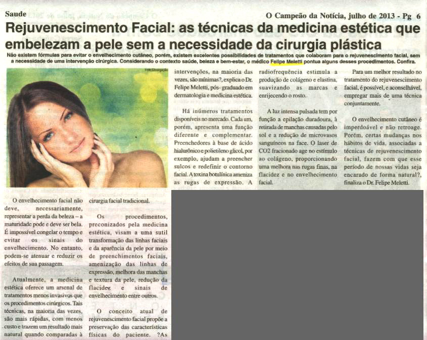 Jornal O Campeão da Notícia - Saúde