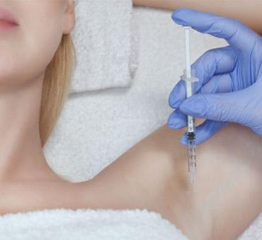 tratamento hiperidrose axilar e palmo plantar suor excessivo botox